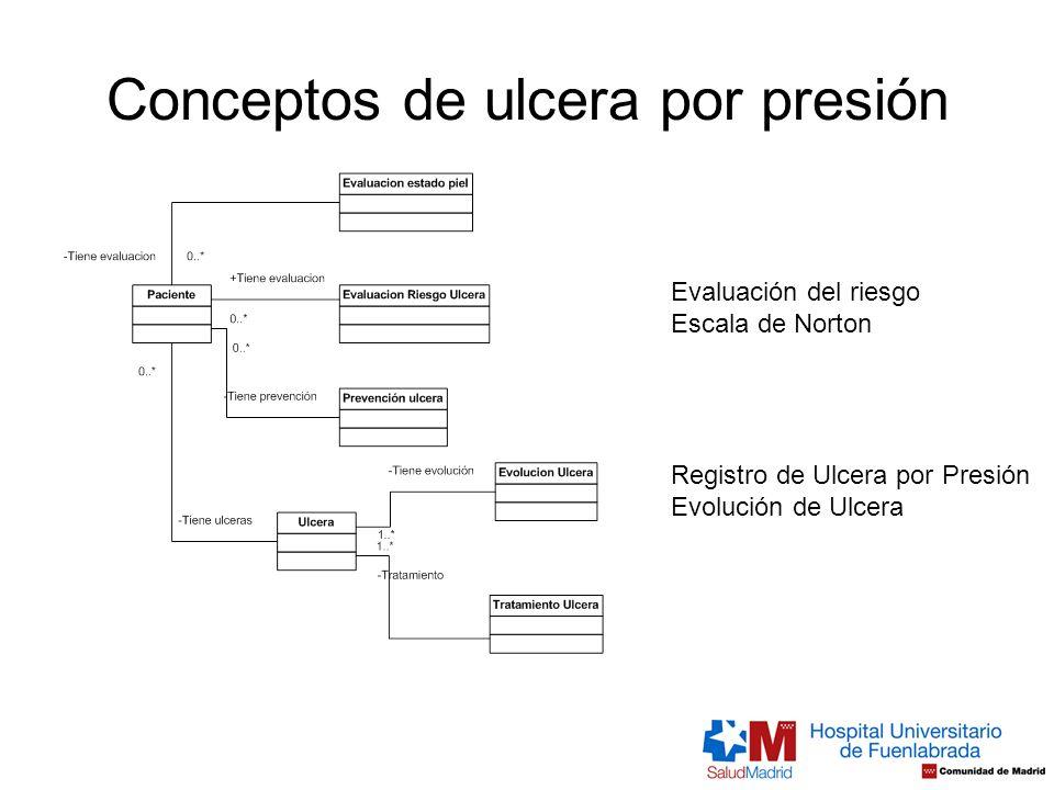 Conceptos de ulcera por presión