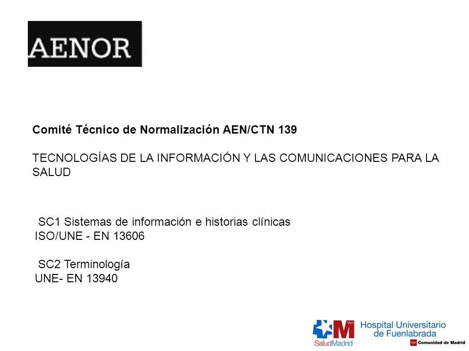 Comité Técnico de Normalización AEN/CTN 139