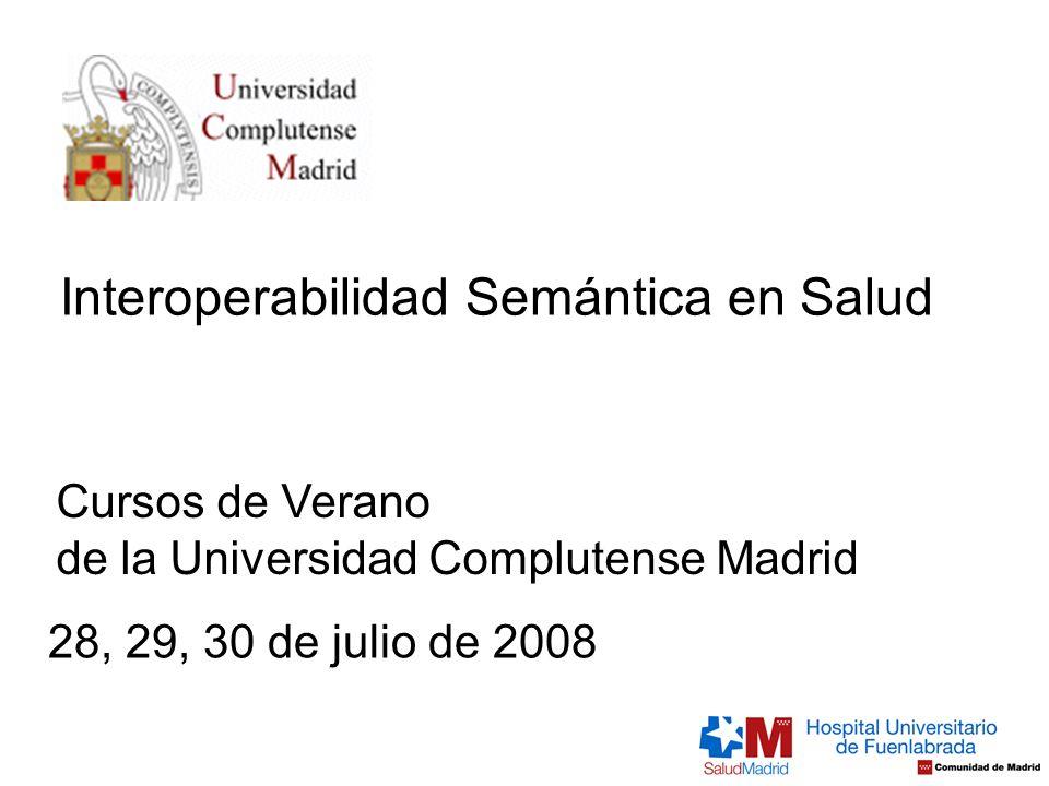 Interoperabilidad Semántica en Salud