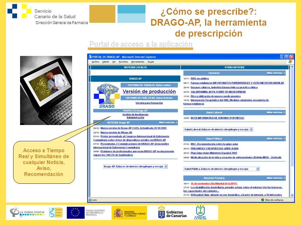 ¿Cómo se prescribe : DRAGO-AP, la herramienta de prescripción