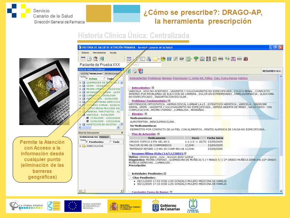 ¿Cómo se prescribe : DRAGO-AP, la herramienta prescripción