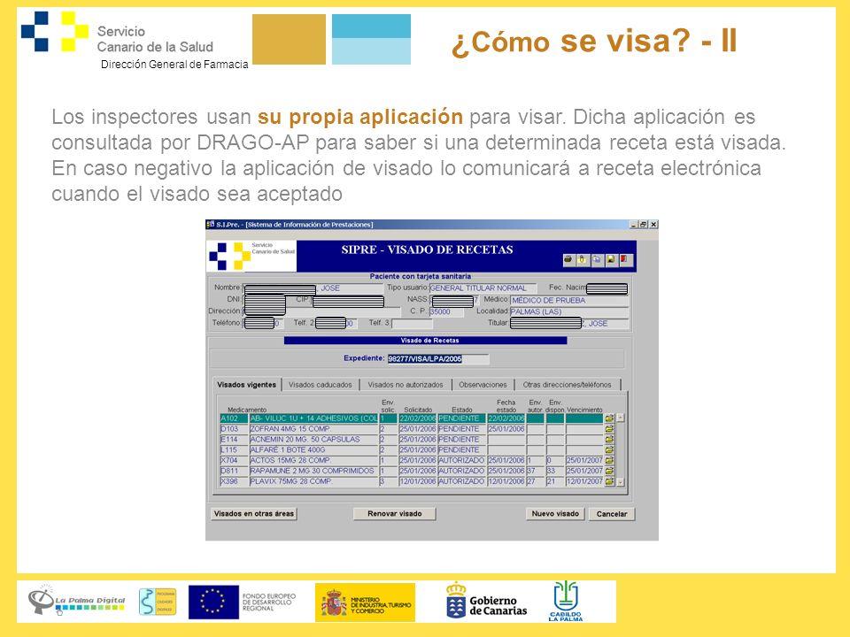 ¿Cómo se visa - II