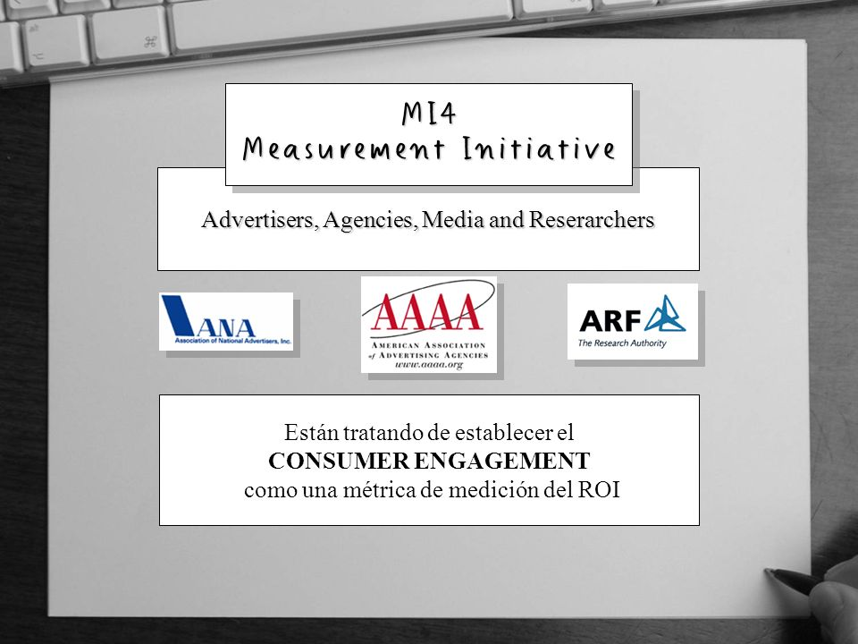 MI4 Measurement Initiative
