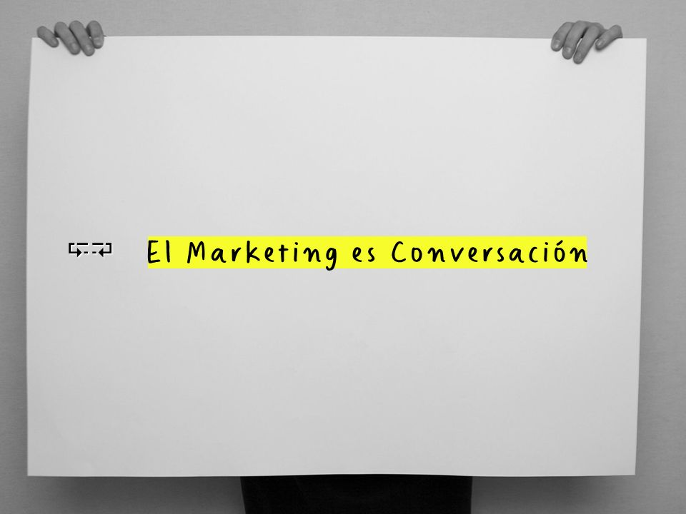 CB El Marketing es Conversación