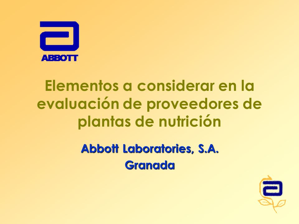 Abbott Laboratories, S.A. Granada