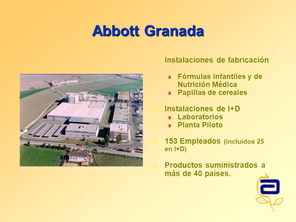 Abbott Granada Instalaciones de fabricación Instalaciones de I+D