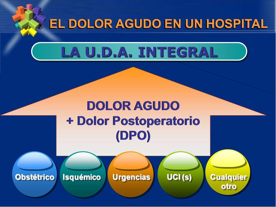 EL DOLOR AGUDO EN UN HOSPITAL