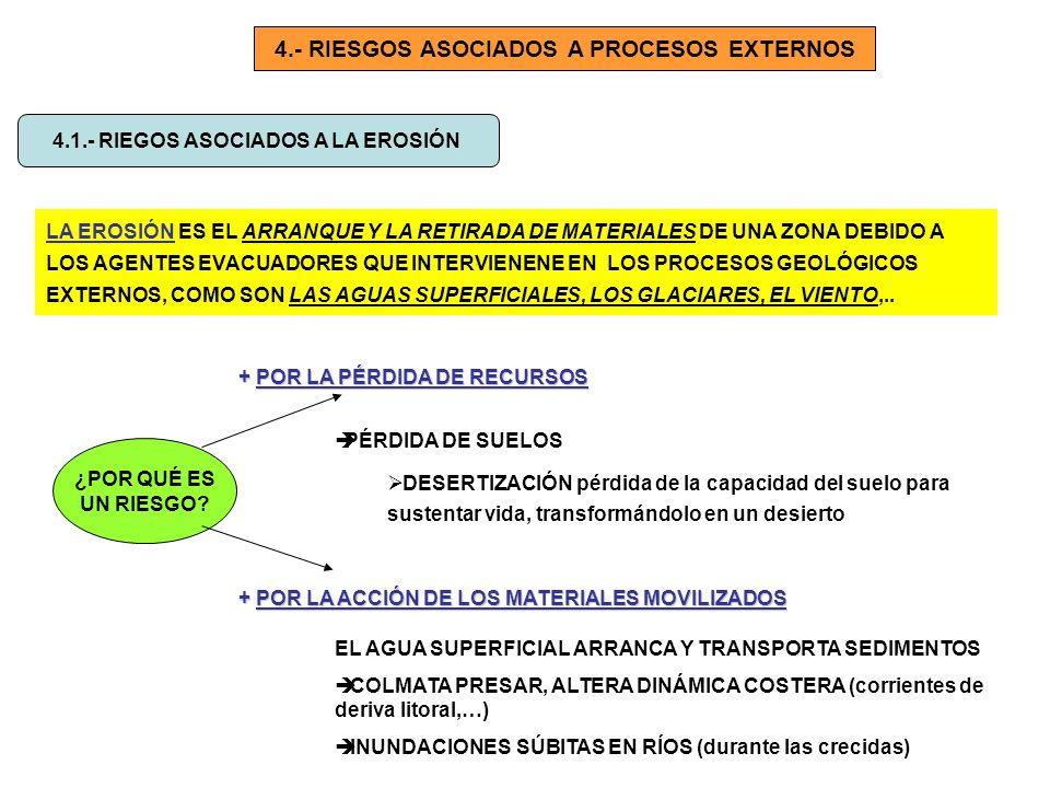 4.- RIESGOS ASOCIADOS A PROCESOS EXTERNOS