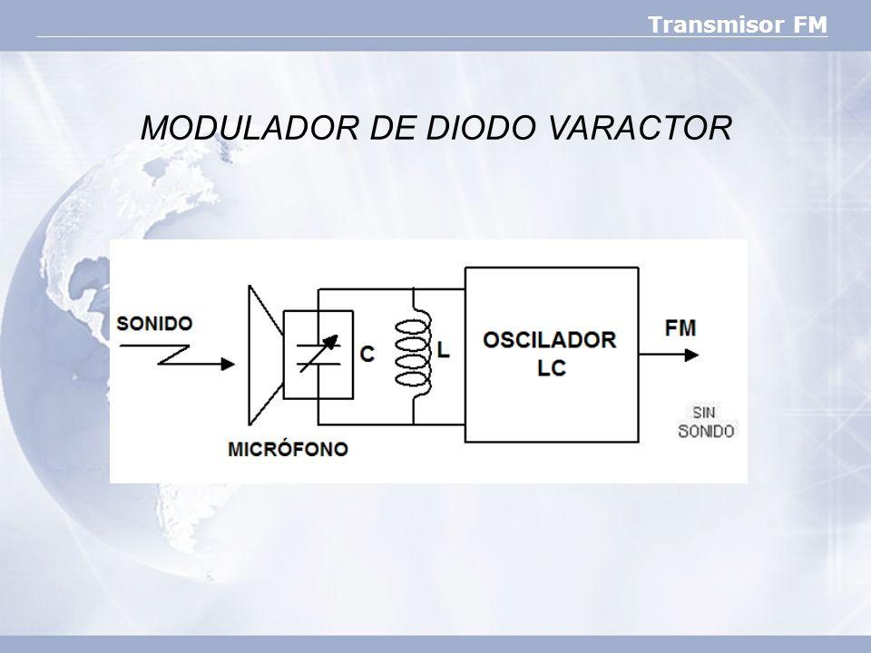 MODULADOR DE DIODO VARACTOR