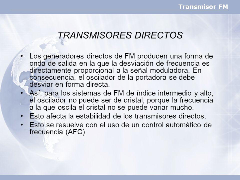 TRANSMISORES DIRECTOS