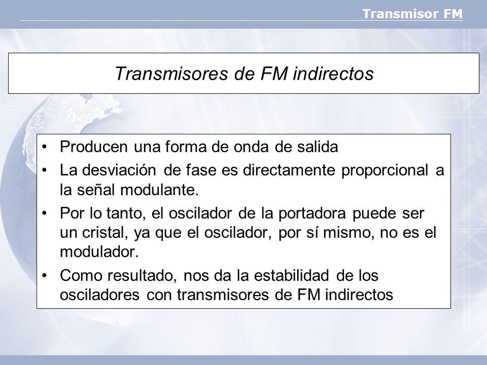 Transmisores de FM indirectos