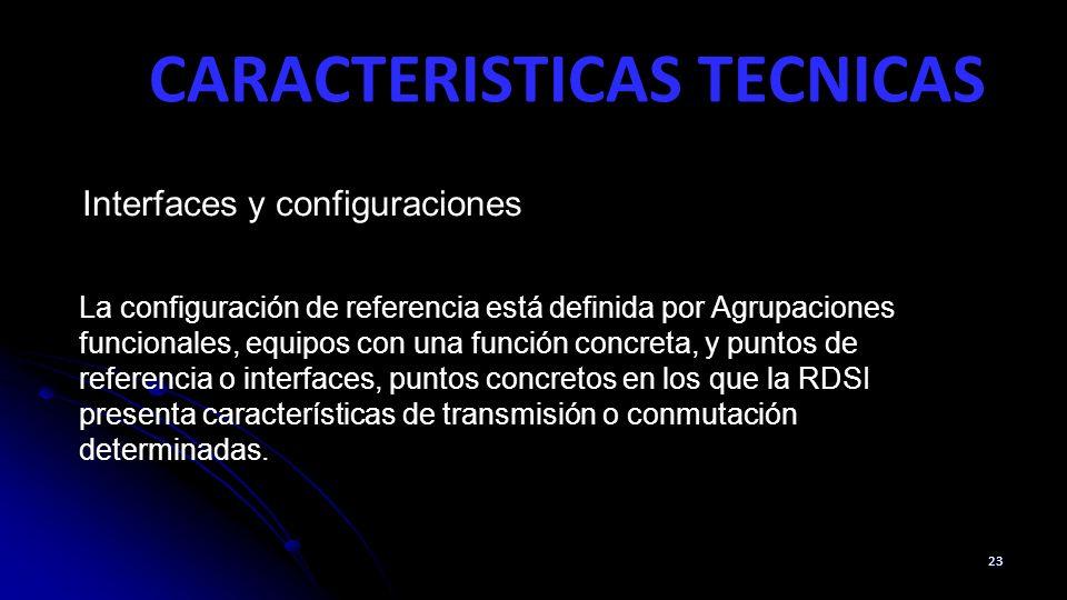 CARACTERISTICAS TECNICAS