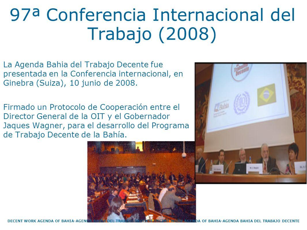 97ª Conferencia Internacional del Trabajo (2008)