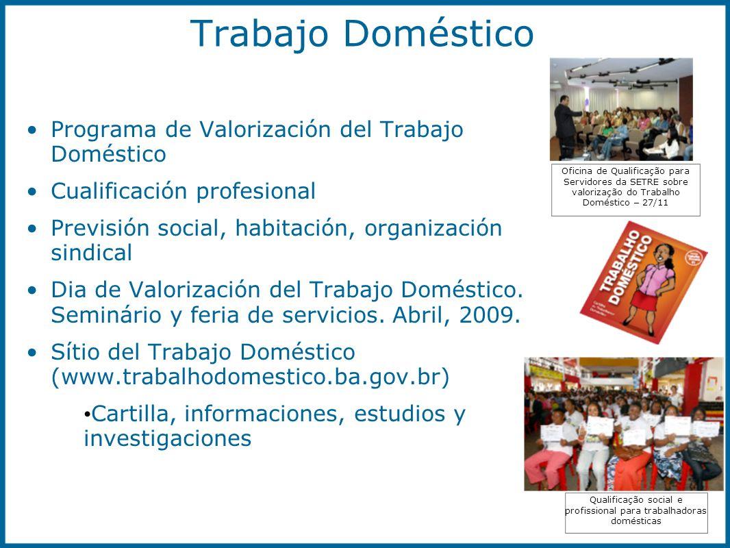 Qualificação social e profissional para trabalhadoras domésticas