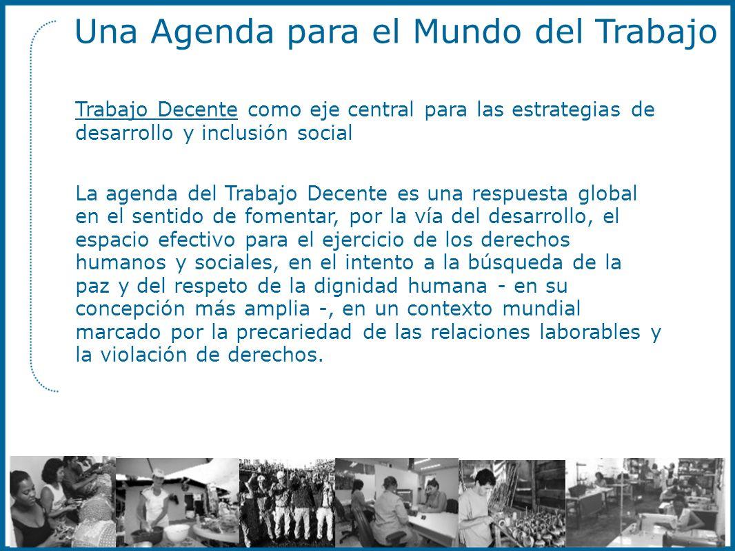 Una Agenda para el Mundo del Trabajo