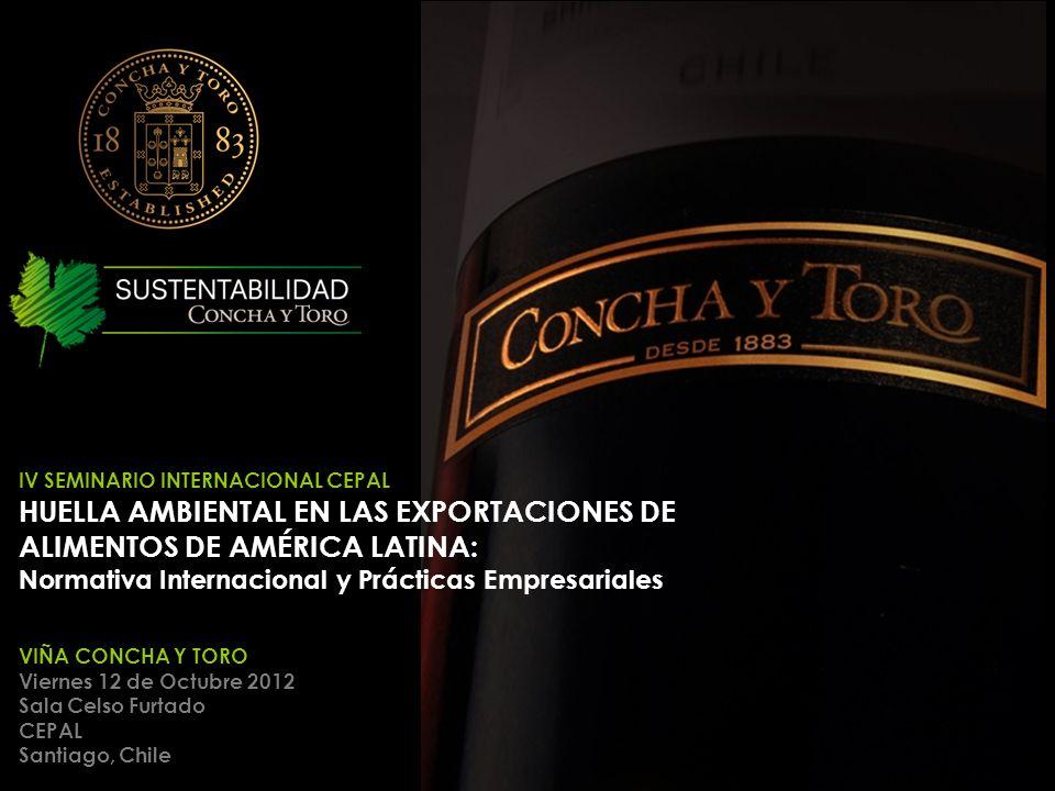HUELLA AMBIENTAL EN LAS EXPORTACIONES DE ALIMENTOS DE AMÉRICA LATINA: