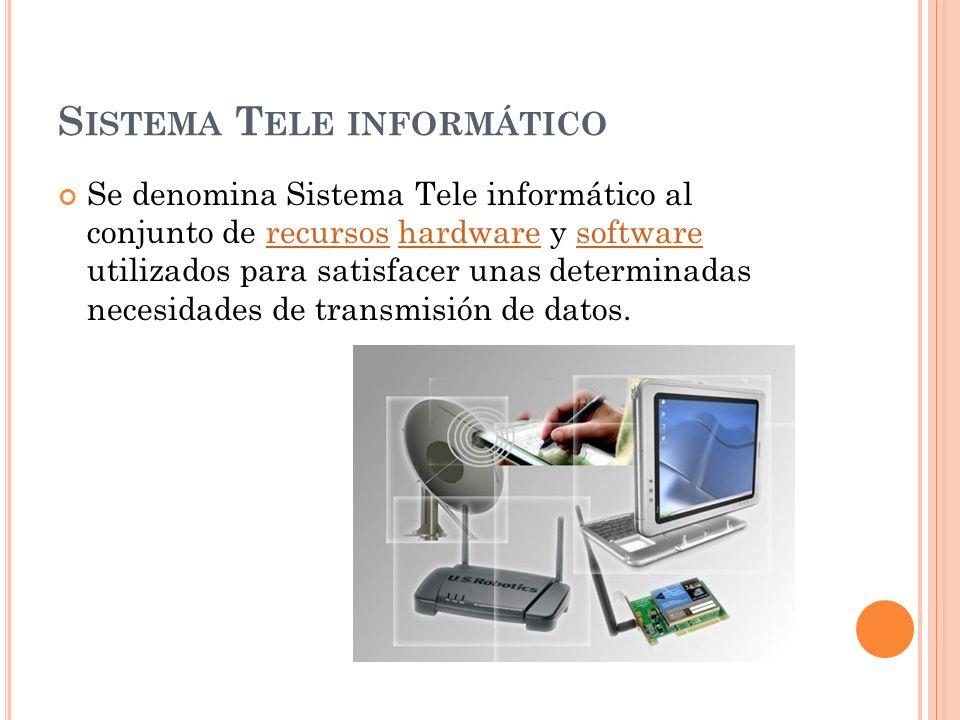Sistema Tele informático