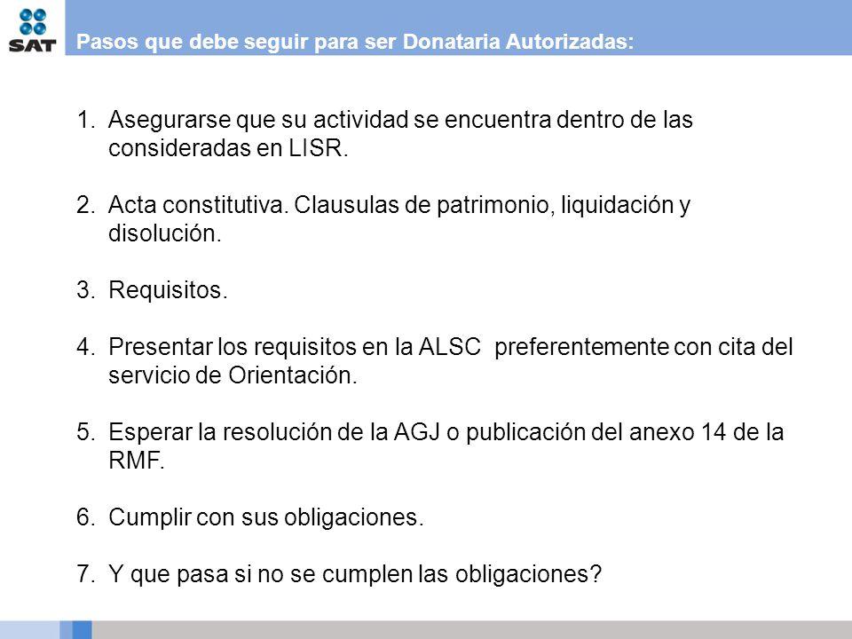Donatarias autorizadas ppt descargar for Que pasa con las clausulas suelo
