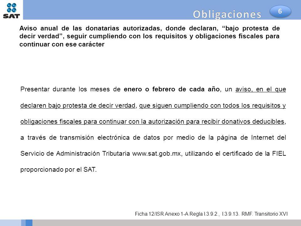 Obligaciones 6.