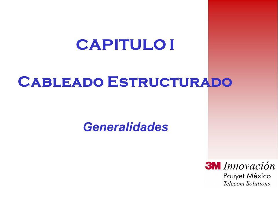 CAPITULO I Cableado Estructurado