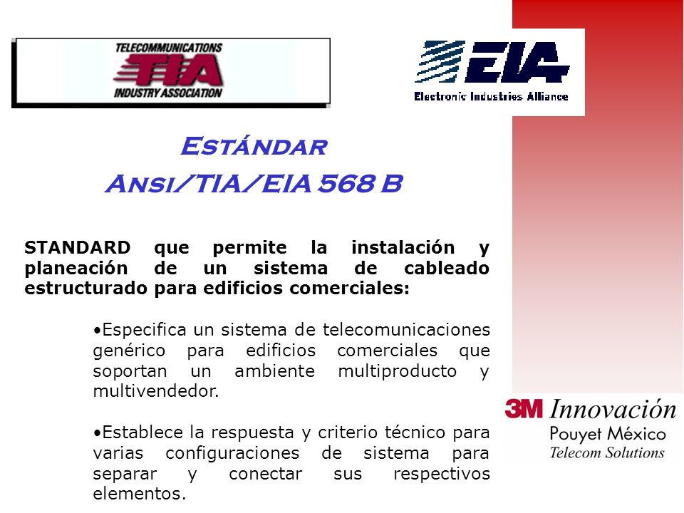Estándar Ansi/TIA/EIA 568 B