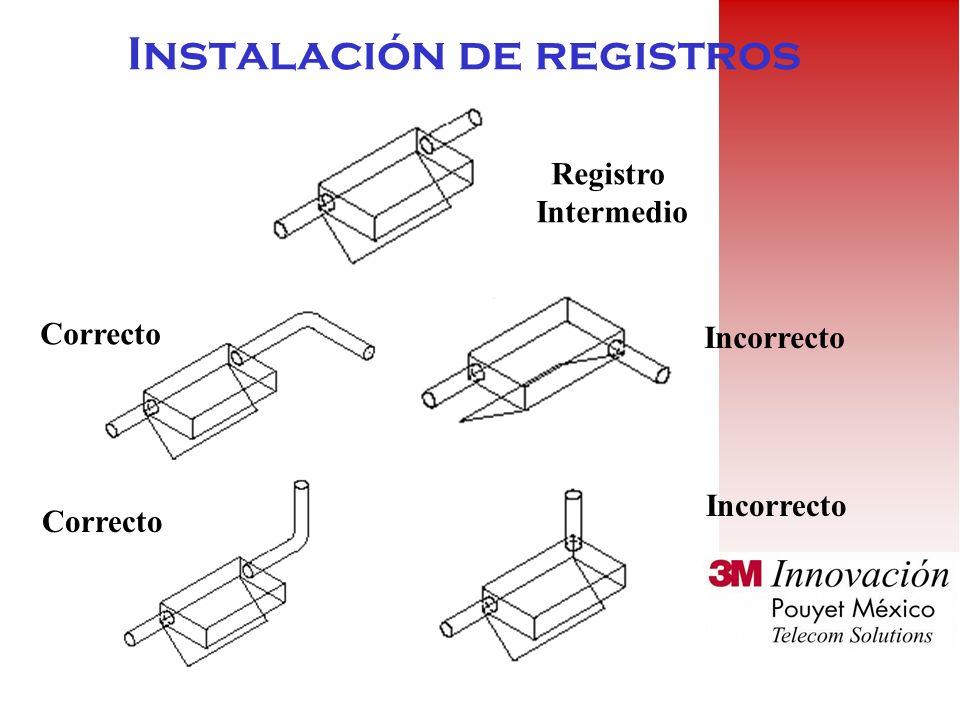 Instalación de registros