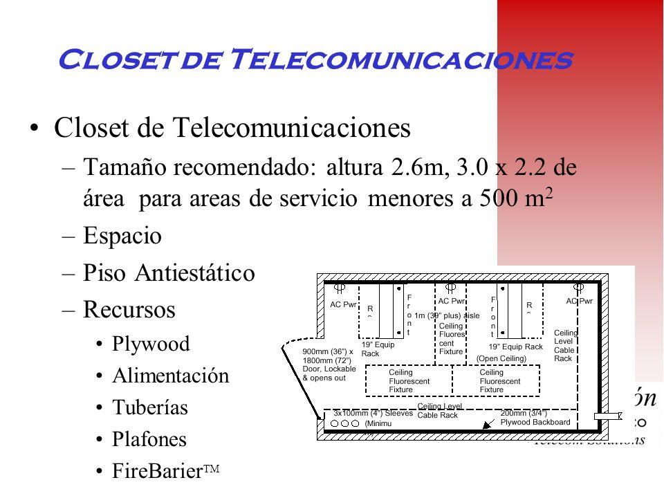Closet de Telecomunicaciones