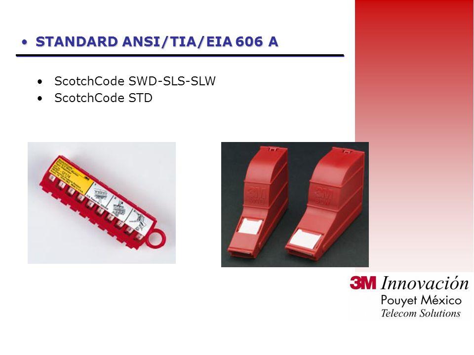 STANDARD ANSI/TIA/EIA 606 A