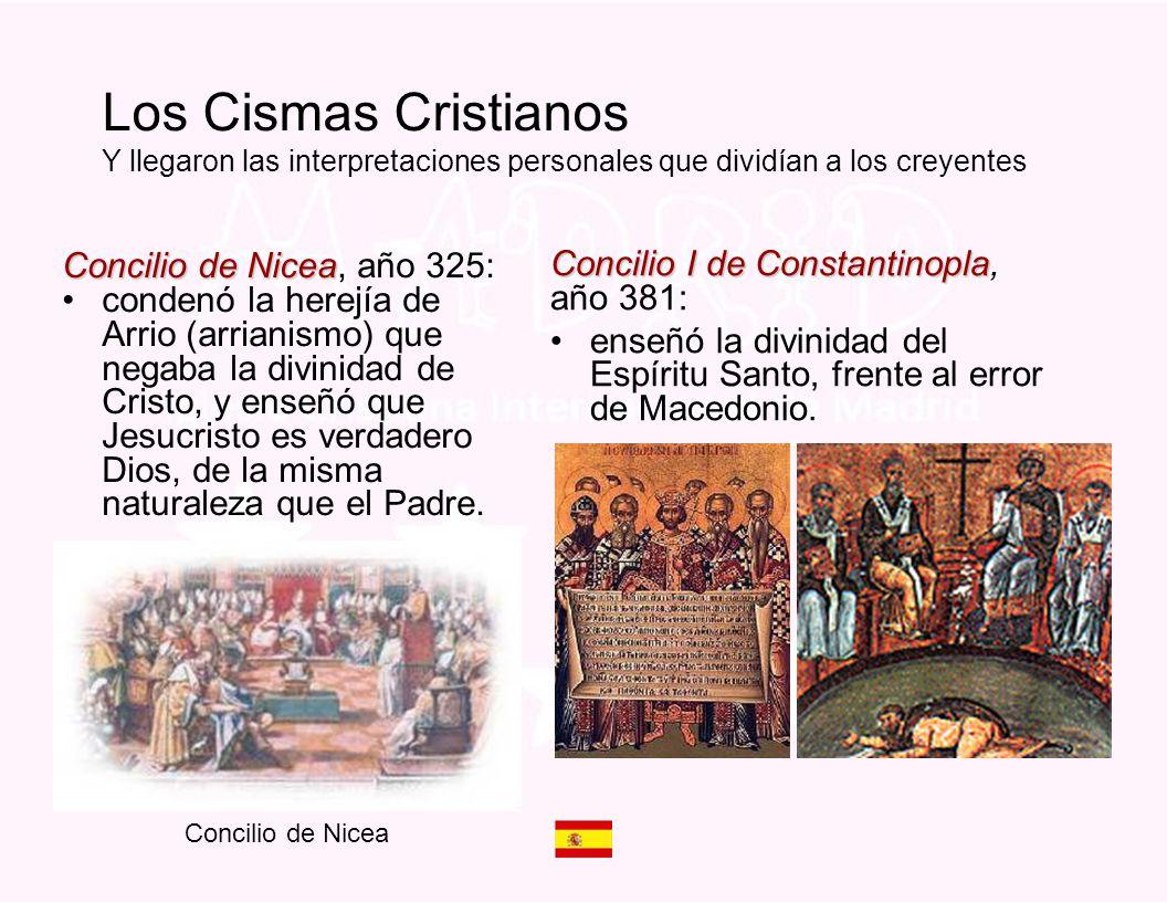 Los Cismas Cristianos Y llegaron las interpretaciones personales que dividían a los creyentes
