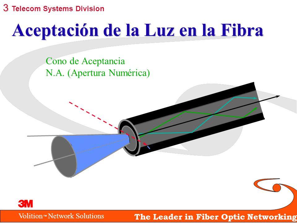 Aceptación de la Luz en la Fibra