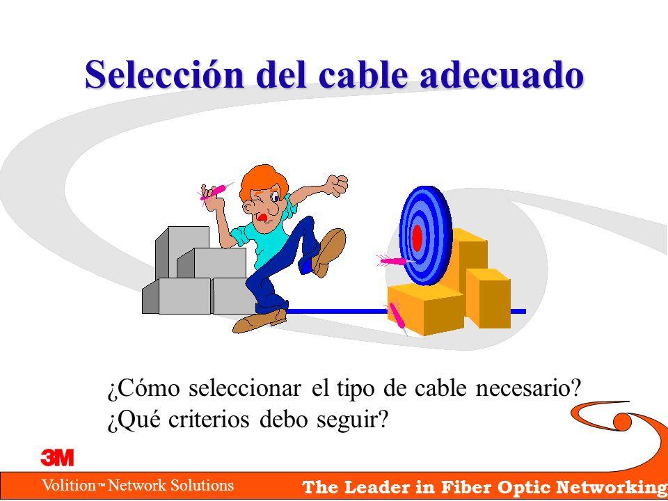Selección del cable adecuado