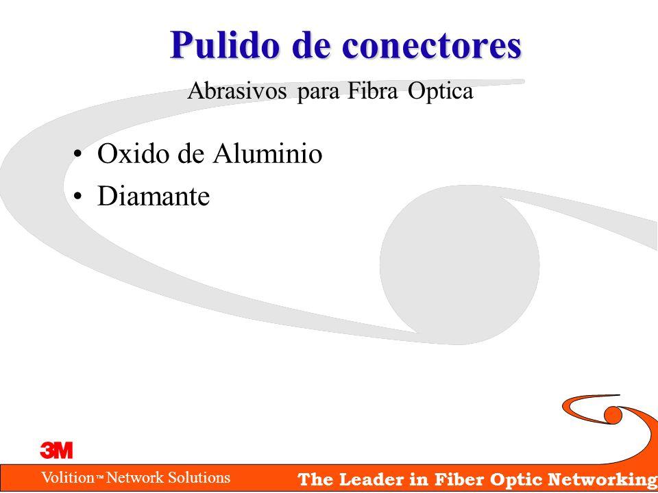 Pulido de conectores Oxido de Aluminio Diamante