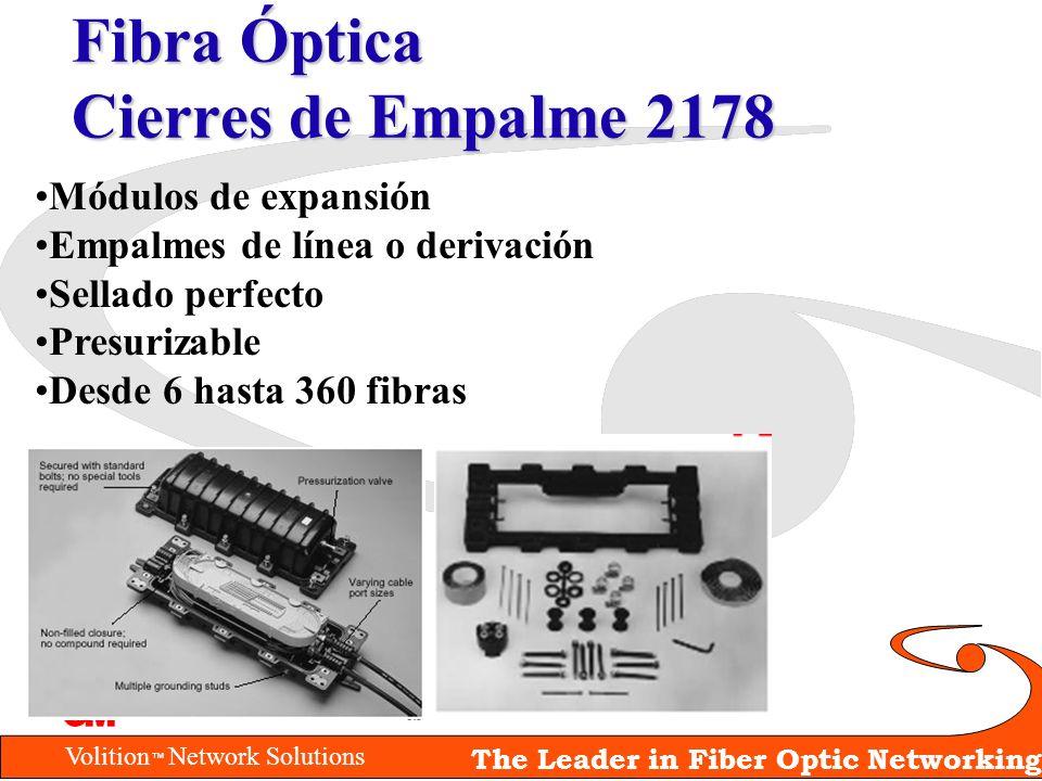 Fibra Óptica Cierres de Empalme 2178
