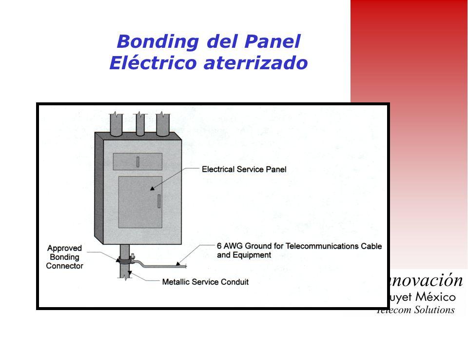 Bonding del Panel Eléctrico aterrizado