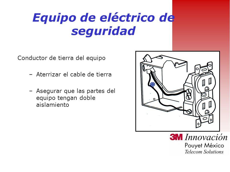 Equipo de eléctrico de seguridad