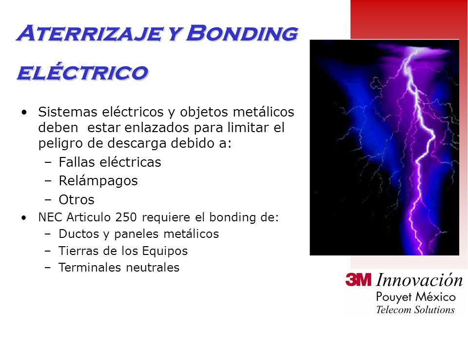 Aterrizaje y Bonding eléctrico