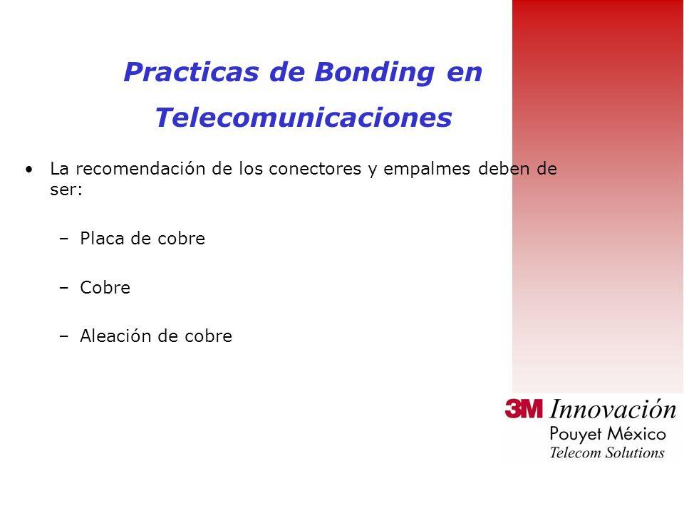 Practicas de Bonding en Telecomunicaciones