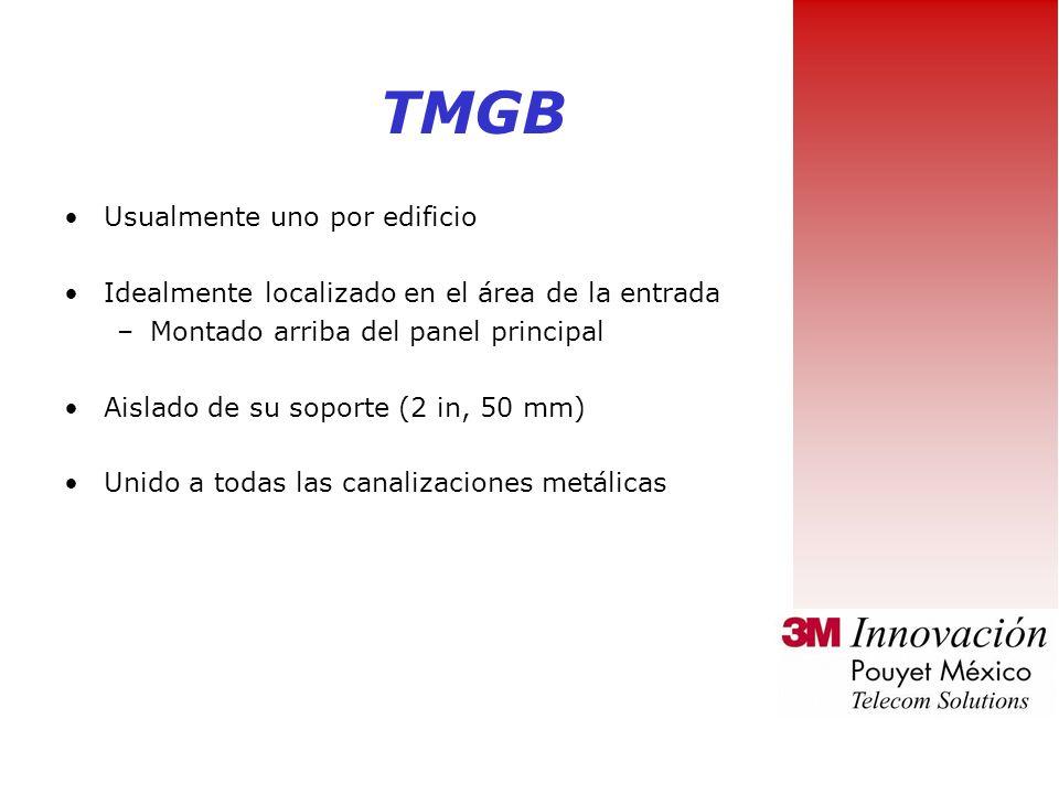 TMGB Usualmente uno por edificio