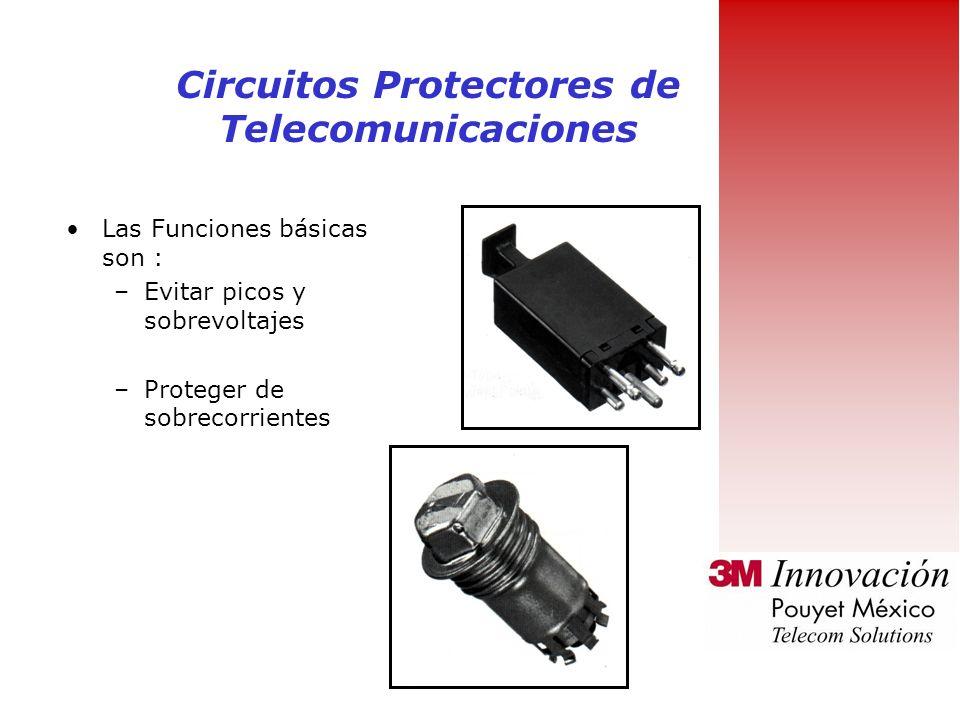 Circuitos Protectores de Telecomunicaciones