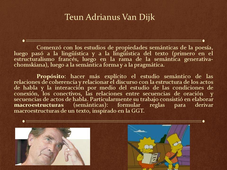 Teun Adrianus Van Dijk