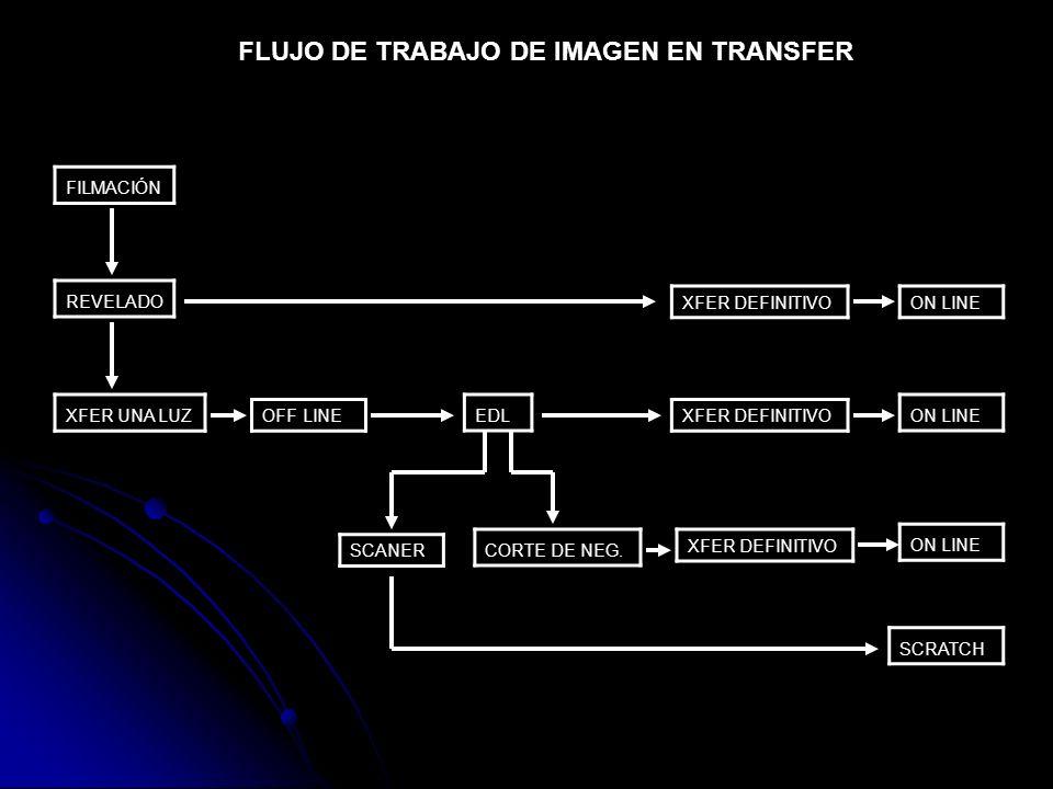 FLUJO DE TRABAJO DE IMAGEN EN TRANSFER