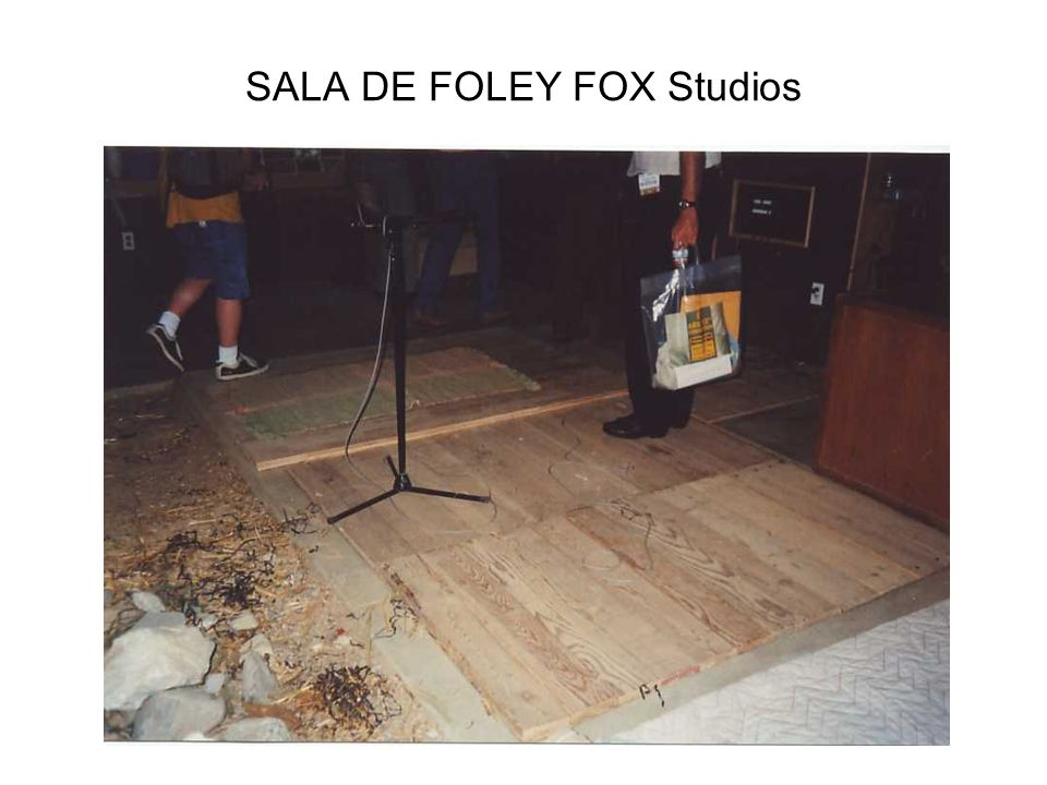 SALA DE FOLEY FOX Studios