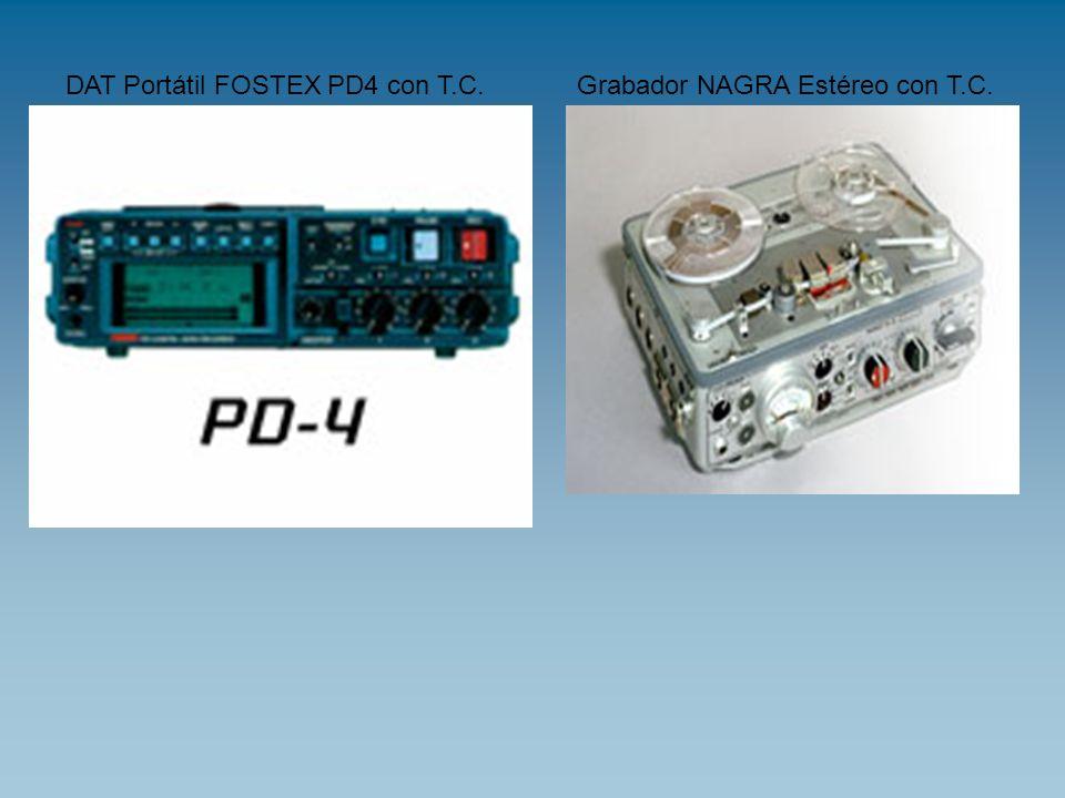 DAT Portátil FOSTEX PD4 con T.C.