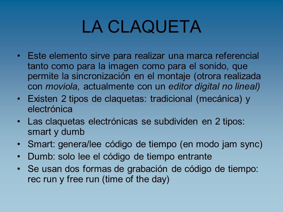 LA CLAQUETA