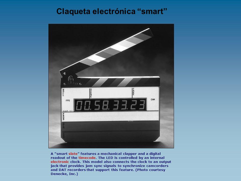 Claqueta electrónica smart