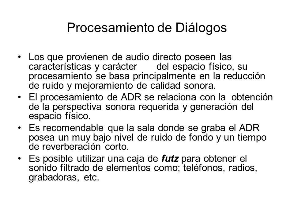 Procesamiento de Diálogos
