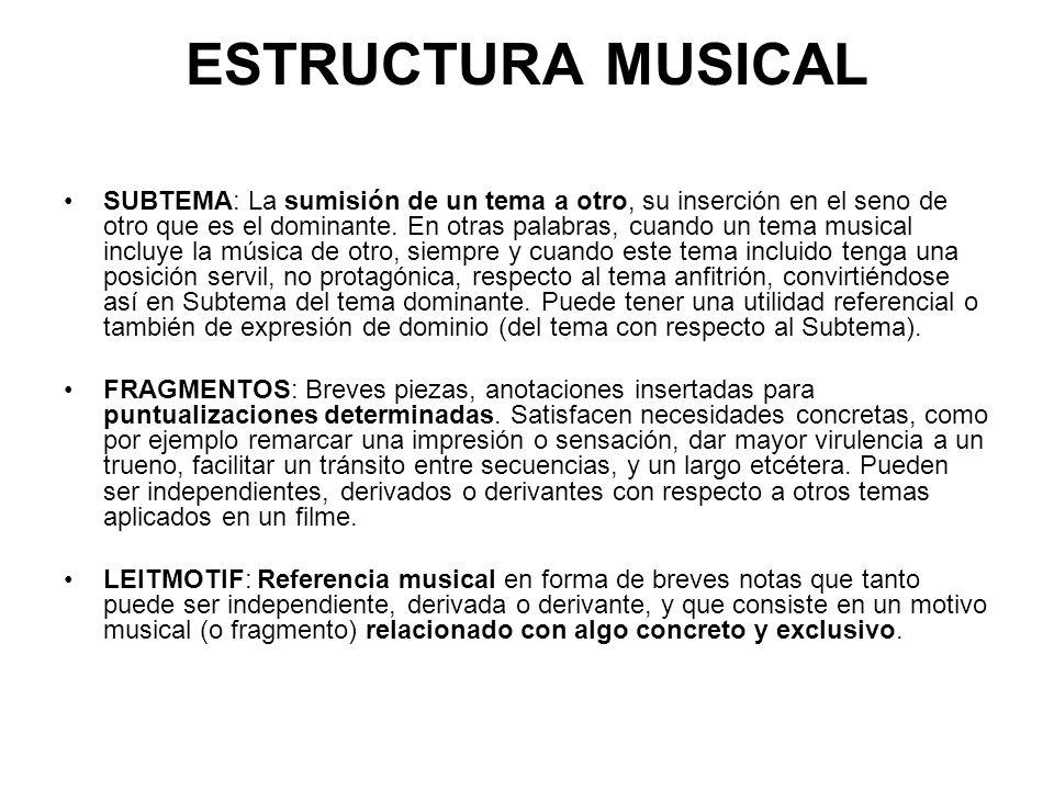 ESTRUCTURA MUSICAL