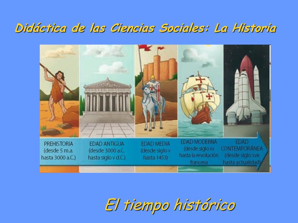 Didáctica de las Ciencias Sociales: La Historia