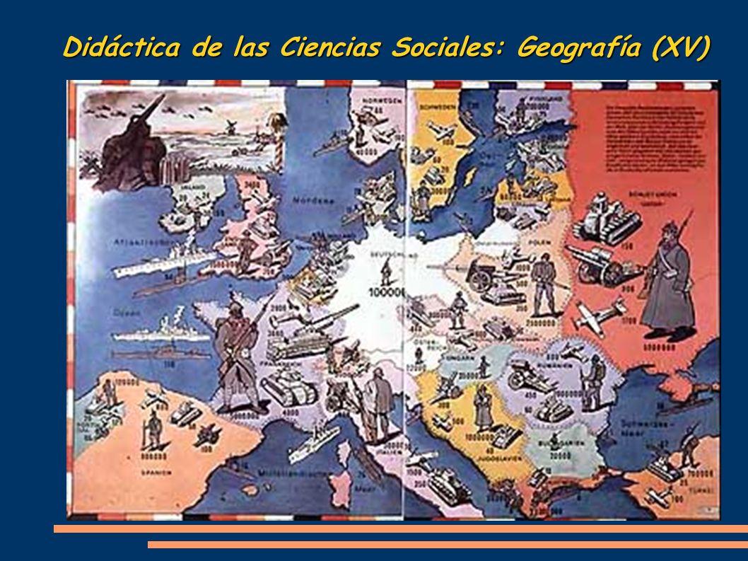 Didáctica de las Ciencias Sociales: Geografía (XV)