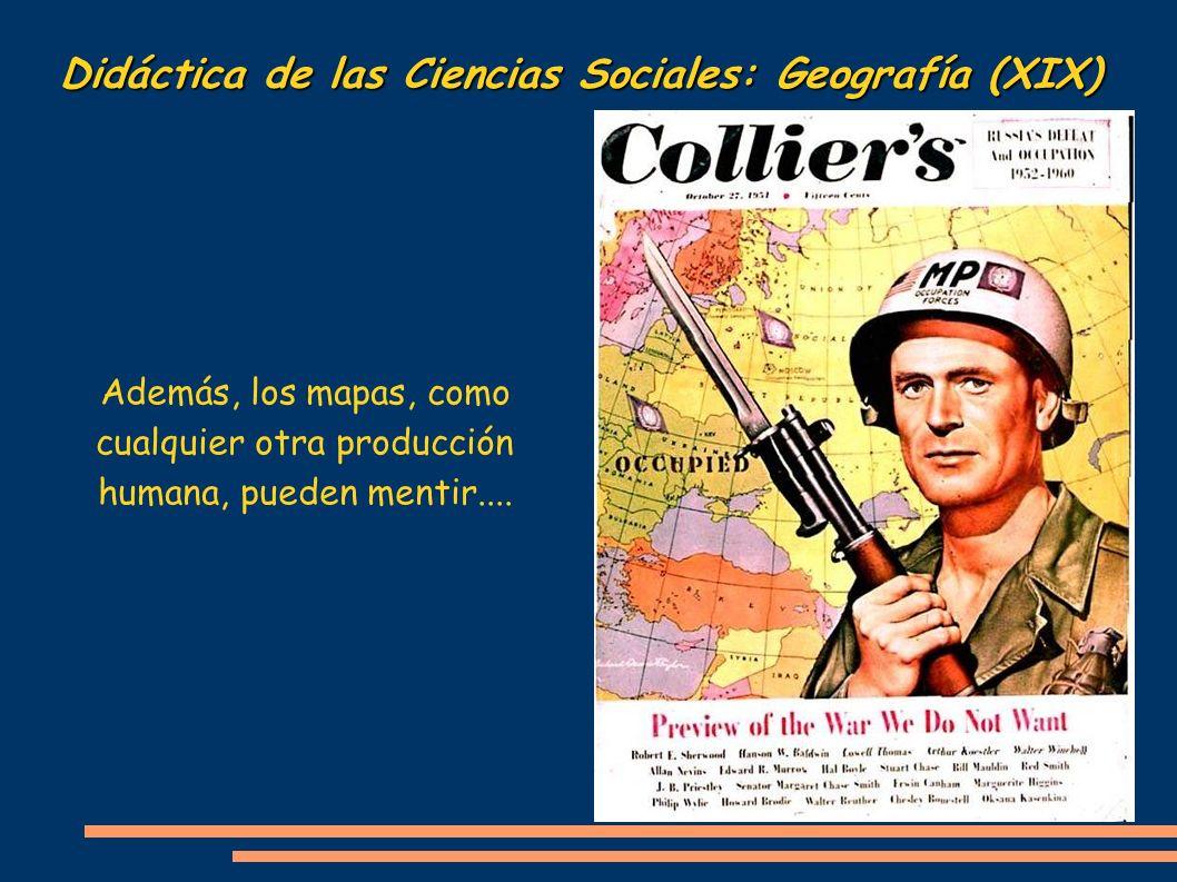 Didáctica de las Ciencias Sociales: Geografía (XIX)